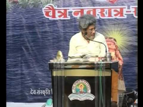 Dr Pranav Pandya- ram Charit Manas Discourse 1- Chaitra Navratri 2011 (hindi) video