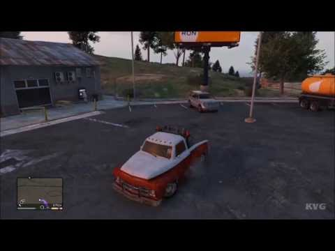 Grand Theft Auto 5 Tow Truck Driving Gameplay HD