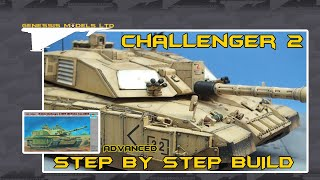 Trumpeter : Challenger 2 MBT : 1/35 Scale : Step By Step Video Build : Episode.1