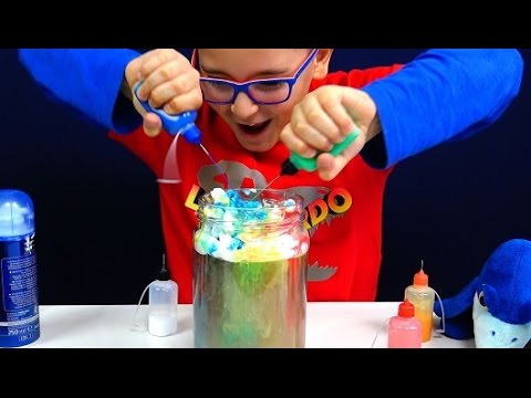 Children experiments - Leonardo D
