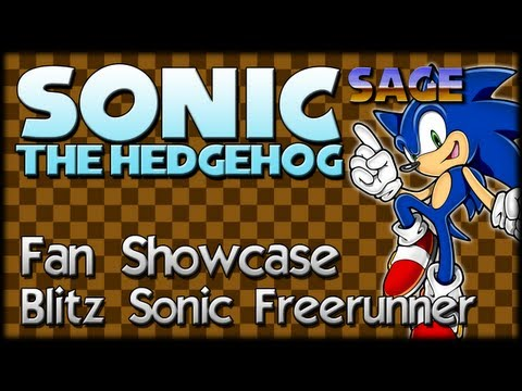 Sonic Fan Showcase : Blitz Sonic Freerunner