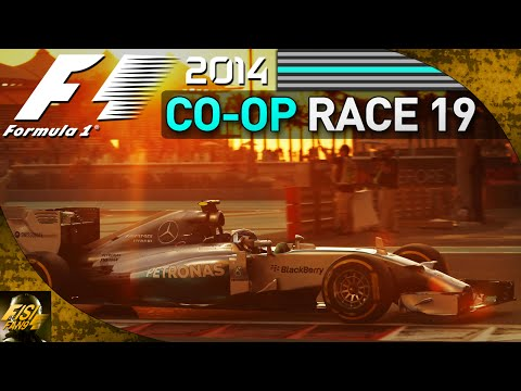 F1 2014 | Co-op Championship - Race 19 Abu Dhabi (Live Commentary)