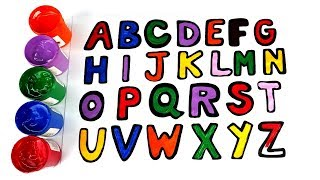 How to Draw Alphabet For Kids Learn ABC, Song For Kids - learn alphabet for toddlers