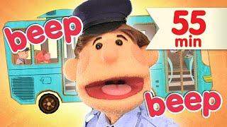 The Wheels On The Bus + More | Nursery Rhymes | Super Simple Songs