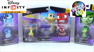 Disney Infinity 3.0 Inside Out Toy Collection Unboxing