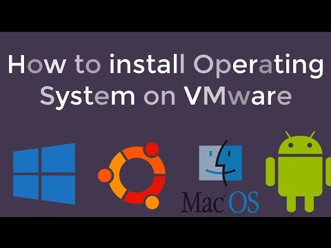 how to install operating system in vmware workstation in hindi