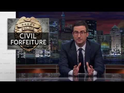 Last Week Tonight With John Oliver: Civil Forfeiture (hbo) video