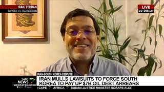 Iran pressures South Korea to pay out over $6 billion oil debts: Seyed Marandi