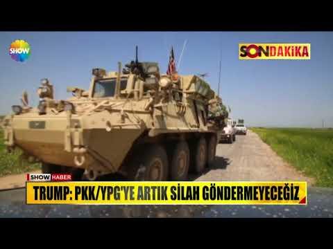 """Trump: """"PKK/YGP'ye artık silah göndermeyeceğiz"""""""
