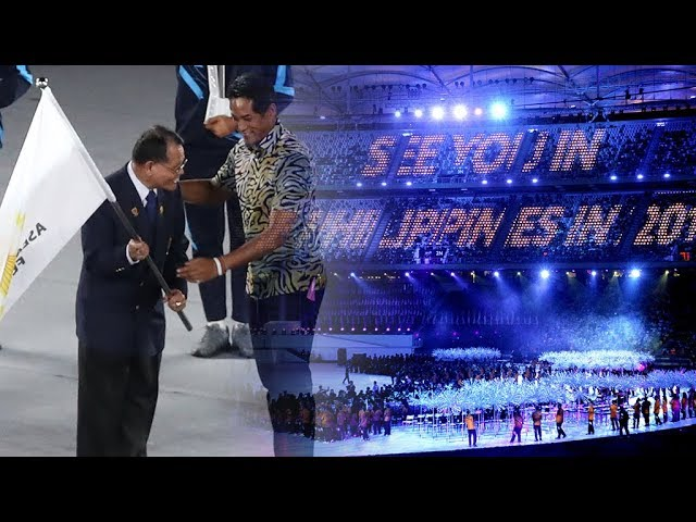 9th Asean Para Games ends with spectacular closing ceremony