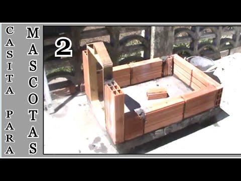 Como hacer una caseta para perros 2 parte how to make - Como hacer caseta de madera ...