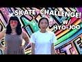 ROLLER SKATE CHALLENGE WITH HYO JOO Planet Roller Skate Ep 18 mp3