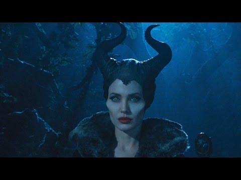 Maleficent - Angelina Jolie OFFICIAL Trailer premiere (2014) Disney Sleeping Beauty