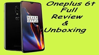 OnePlus 6T Unboxing & Overview { HINDI }