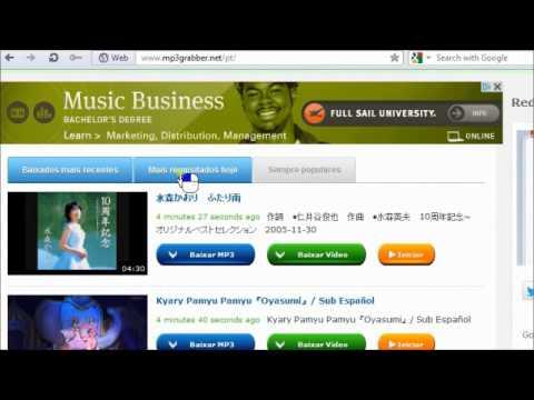 Como Baixar Musica Gratis na Internet sem Programas?