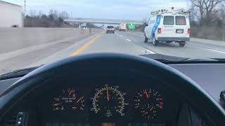1995 E320 Wagon - On The Road