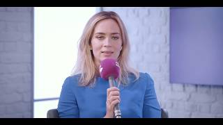 "Emily Blunt - ""Yes, I'll be James Bond!"""
