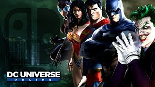 DC Universe Online - Switch Gameplay