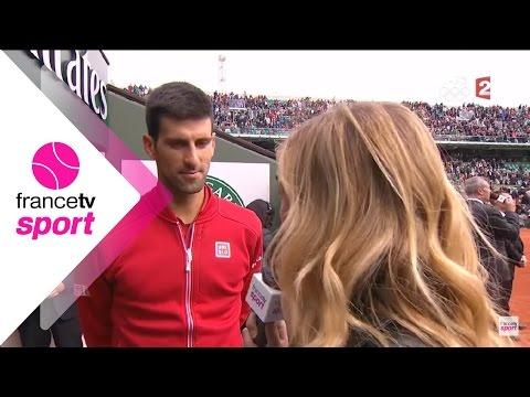 Novak Djokovic content après sa victoire face à Yen-Hsun Lu