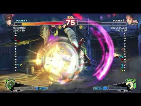 WeirdoNeo [Juri] vs BROLYBALLZS [Ryu] MishaDong [Ken] SSF4 Ranked Matches - Xbox Live [2 of 2]