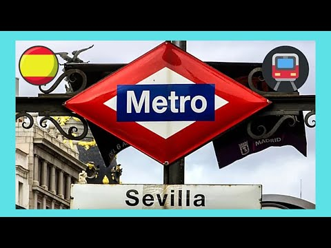 MADRID, riding the modern METRO (subway, underground), SPAIN - YouTube