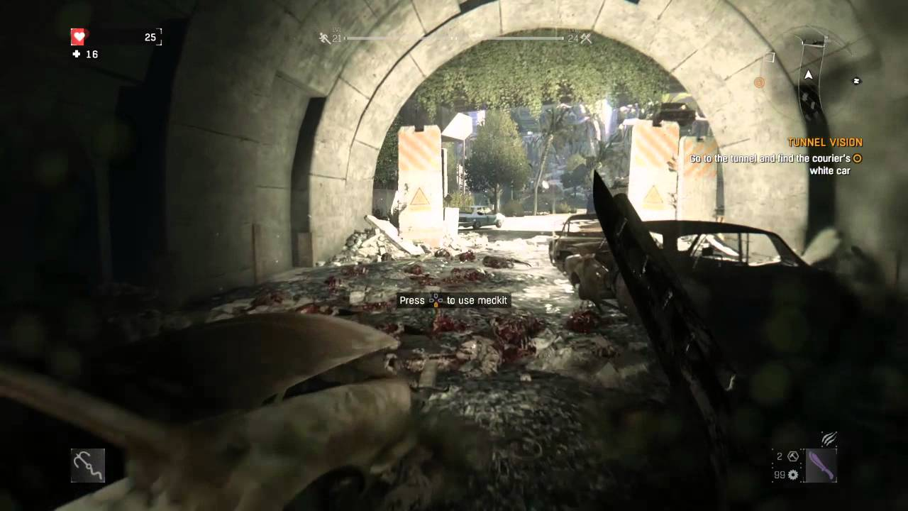 Tunnel Vision Dying Light Location Dying Light Tunnel Vision go