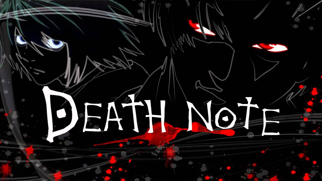 Death note anime cover