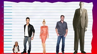 How Tall Is Adam Levine of Maroon 5? - Height Comparison!