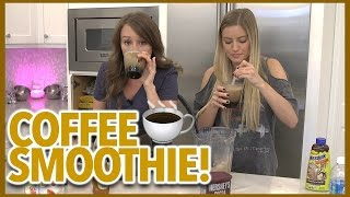 MAKING COFFEE SMOOTHIES!