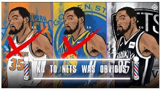 Kevin Durant & Kyrie Are Nets: Here's Why It Was Obvious - Barbershop talk (Episode 54)