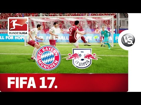 FC Bayern vs. RB Leipzig - FIFA 17 Prediction with EA Sports