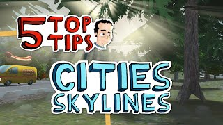 How to analyze and fix traffic congestion - 5 Top Tips for Cities Skylines