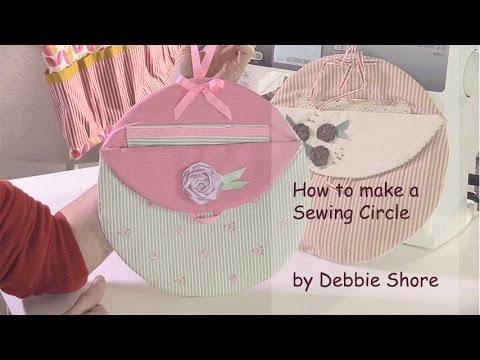 Sewing Circle, a project from Sewing Room Accessories by Debbie Shore