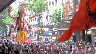 Ganesh Galli ( Mumbaicha Raja ) Visarjan Miravnook 2016 Jingaat Song