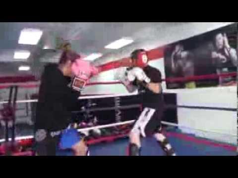 WMMA Champion Cris Cyborg Spinning back Kick KO vs Man