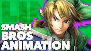 How to Animate a Smash Bros Attack // LINK