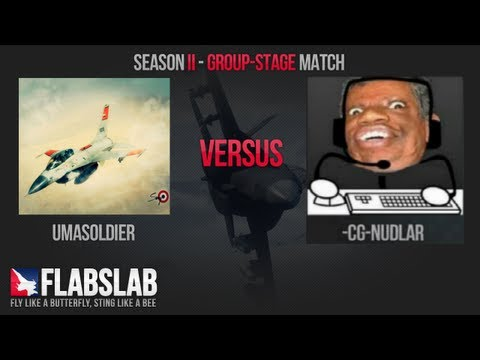 FLABSLAB II Group stage: UmASoLdieR vs Nudlar.