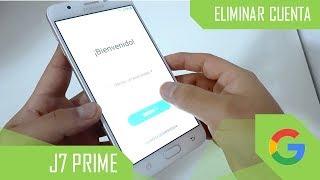 Eliminar Cuenta de Google Samsung Galaxy J7 Prime