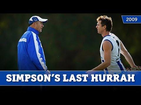 Flashback 2009 Adam Simpson S Last Hurrah