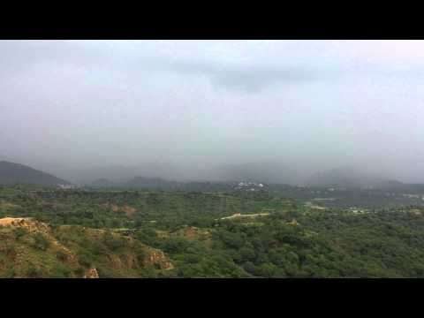 Rainy weather In Azad Kashmir Mirpur Pakistan part 1 Full HD