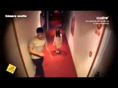 Niña de El Aro aparece en hotel