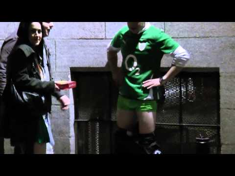 Irlandia.ie A Man Undressing On Paddy's Day 2011 Night Part 2 video