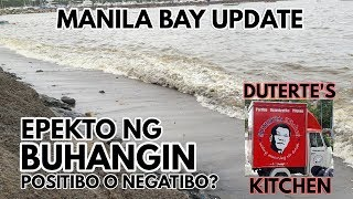 TINAMBAK NA BUHANGIN, ANO NGA BA ANG EPEKTO SA MANILA BAY? | MANILA BAY UPDATE JUNE 15, 2019