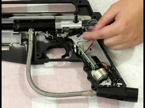 How to Install an E-Grip Kit on a Tippmann Alpha Black Tactical Part 1/2 by HustlePaintball.com