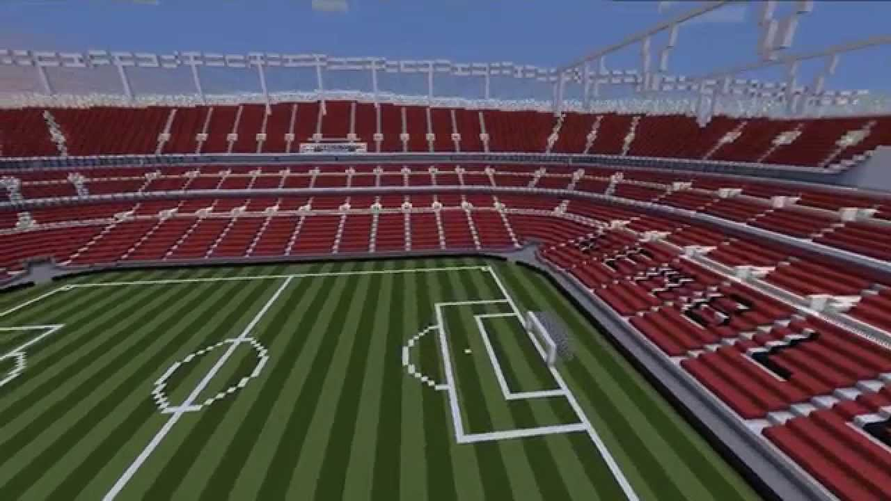 Wembley In Minecraft Youtube