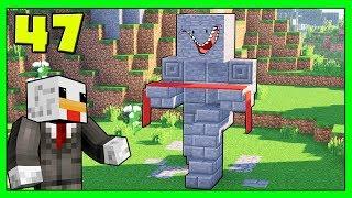 Minecraft Vanilla - La Statua #47