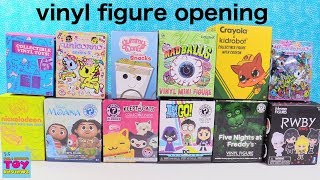 Unicornos Disney BFFS Funko Kidrobot Vinyl Figure Opening Review | PSToyReviews