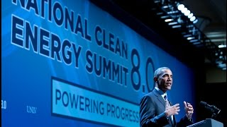 The President Speaks at the National Clean Energy Summit