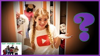 Spooky Don't Choose The Wrong Door Halloween Tag / That YouTub3 Family I Family Channel