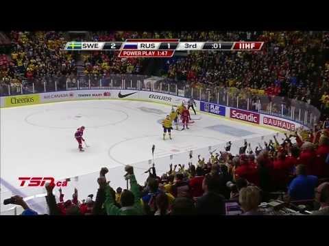 Sweden v Russia SF (2-1) - 2014 IIHF World Junior Championship